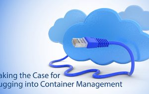 Making the Case for Plugging into Container Management