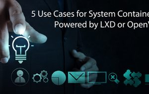 5 Use Cases for System Containers Powered by LXD or OpenVZ