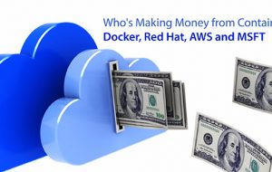 Who's Making Money from Containers? Docker, Red Hat, AWS and MSFT