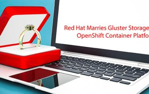 Red Hat Marries Gluster Storage to OpenShift Container Platform