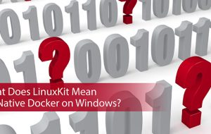 What Does LinuxKit Mean for Native Docker on Windows?