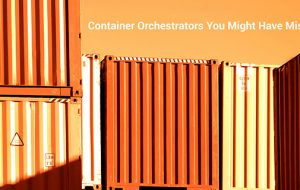 Container Orchestrators You Might Have Missed