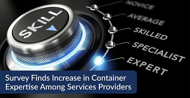 Survey Finds Increase in Container Expertise Among Services Providers