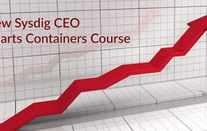 New Sysdig CEO Charts Containers Course
